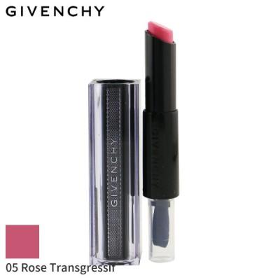 ジバンシィ リップスティック Givenchy 口紅 Rouge Interdit Vinyl Extreme Shine Lipstick #05 Rose Transgressif (Unboxed) 3.3g 誕生日プレゼント
