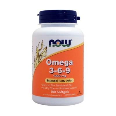植物性オメガ3・6・9脂肪酸 1000mg 必須脂肪酸ミックス 100粒