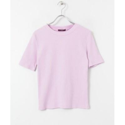 (ITEMS URBANRESEARCH/アイテムズ アーバンリサーチレディース)リブニットTシャツ/レディース PPL