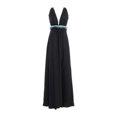 ロートレ ショーズ L' AUTRE CHOSE ロングワンピース&ドレス ブラック 40 コットン 95% / ポリウレタン 5% ロングワンピー