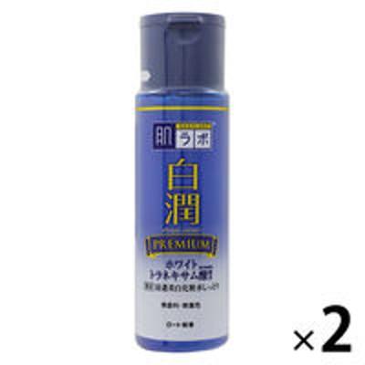 ロート製薬肌ラボ 白潤 プレミアム薬用浸透美白化粧水 しっとり 170mL ×2個 ロート製薬