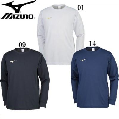 Tシャツ(長袖)(ユニセックス) MIZUNO ミズノトレーニングウエア ミズノ長袖Tシャツ18SS (32JA8132)