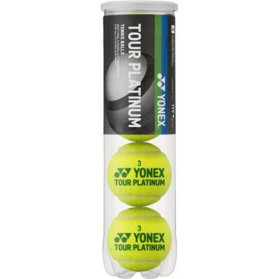 ヨネックス テニスボール ツアープラチナム(4ケイリ)  TBTPL4P-004
