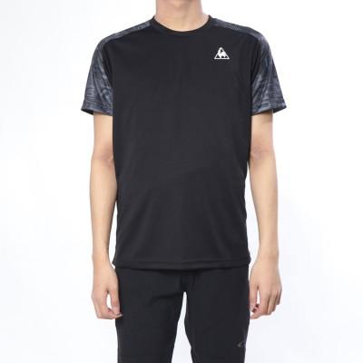 ルコックスポルティフ le coq sportif メンズ 半袖機能Tシャツ 半袖シャツ QMMNJA06