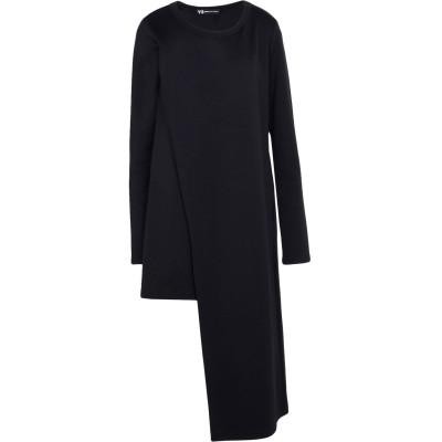 ワイスリー Y-3 ミニワンピース&ドレス ブラック XS コットン 53% / ナイロン 47% ミニワンピース&ドレス