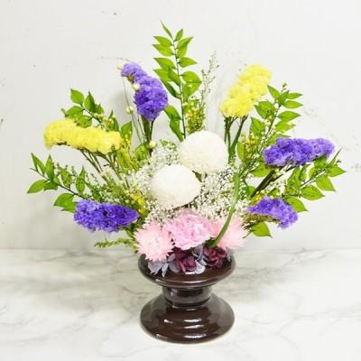 プリザーブドフラワー 仏壇 仏花 紫苑 フラワーギフト お供え 彼岸