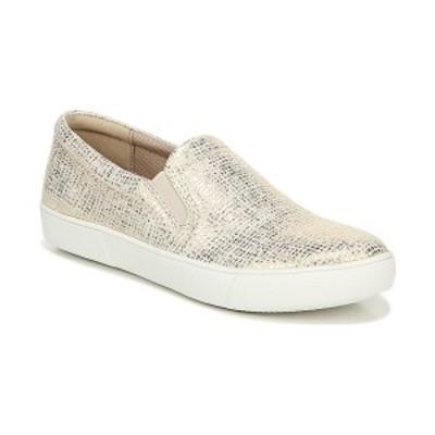 ナチュライザー レディース スリッポン・ローファー シューズ Marianne Slip-on Sneakers White Gold
