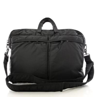 送料無料 ポーター PORTER 吉田カバン ビジネスバッグ ブリーフケース 書類カバン 鞄 2WAY ナイロン ロゴ タンカー TANKER 黒系 メンズ