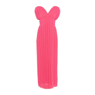 パロッシュ P.A.R.O.S.H. ロングワンピース&ドレス フューシャ XS ポリエステル 100% ロングワンピース&ドレス