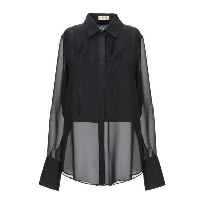 リュー ジョー LIU •JO シャツ ブラック 40 ポリエステル 100% / コットン / シルク シャツ