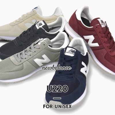 ニューバランス レディース メンズ スニーカー newbalance U220 ローカット シューズ 靴 カジュアル ユニセックス