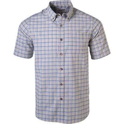 マウンテンカーキス メンズ シャツ トップス Spalding Gingham Short-Sleeve Shirt
