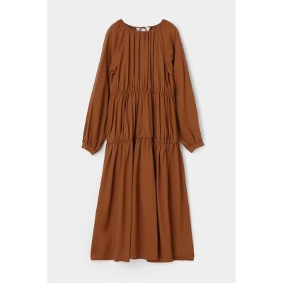 【マウジー/MOUSSY】 GATHER TIERED FLARE ドレス