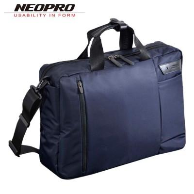 ネオプロ ビジネスバッグ 2WAY ワイヤレス メンズ 2-840 NEOPRO | ブリーフケース USBポート Qi充電器 ワイヤレス充電器