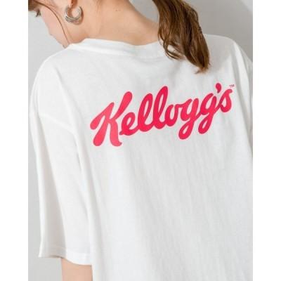 tシャツ Tシャツ Kellogg's BACKロゴ Tシャツ