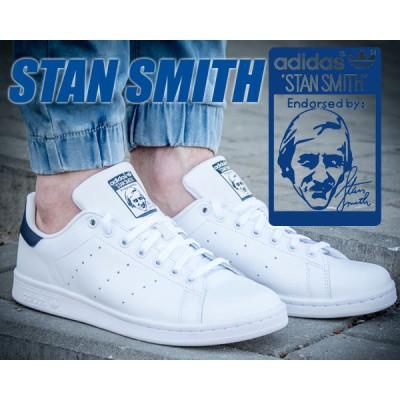 【アディダス スタンスミス スニーカー メンズサイズ】adidas STAN SMITH wht/navy ホワイト/ネイビー  STAN SMITH