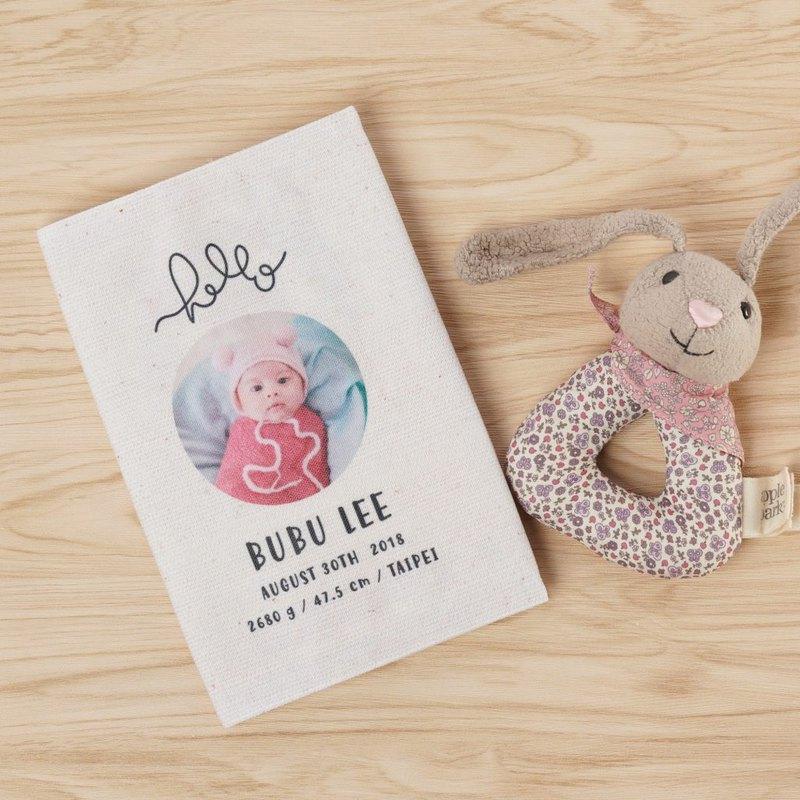 客製化寶寶手冊套/ 保護要用6年的重要本子