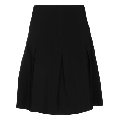 パトリツィア ペペ PATRIZIA PEPE ひざ丈スカート ブラック 40 レーヨン 100% ひざ丈スカート
