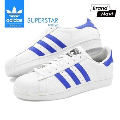 【サイズ交換1回無料】アディダス スーパースター メンズ スニーカー シューズ 靴 adidas SUPERSTAR ORIGINALS BZ0197
