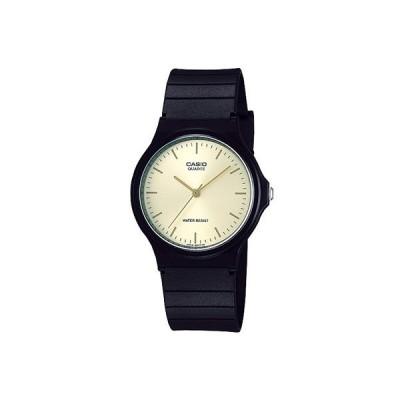 カシオ スポーツウォッチ メンズ アナログ 腕時計 日常生活防水 おしゃれな ブラック 黒 見やすい 文字盤 ゴールド 金色 マラソン ランニング 時計 (SD17AP02)