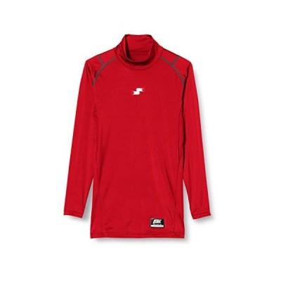 [エスエスケイ] アンダーシャツ SCβやわらかハイネック長袖フィットアンダーシャツ メンズ SCB019HL レッド (20) S