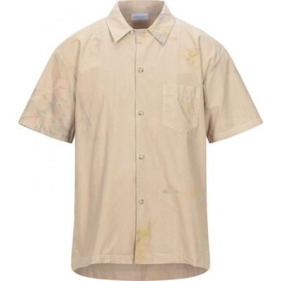 ジョン エリオット JOHN ELLIOTT メンズ シャツ トップス patterned shirt Beige