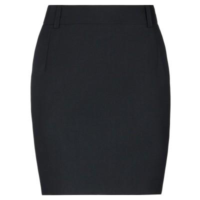 バレンシアガ BALENCIAGA ミニスカート ブラック 34 ポリエステル 50% / ウール 50% ミニスカート