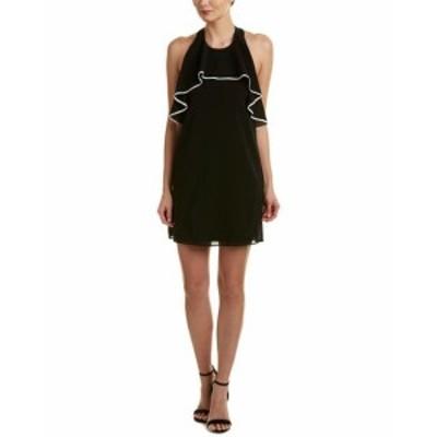 Alice + Olivia アリス+オリビア ファッション ドレス Alice + Olivia Gwenie Silk-Blend Shift Dress