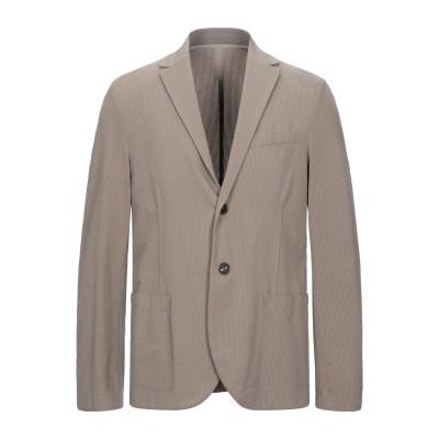 ハリス・ワーフ・ロンドン HARRIS WHARF LONDON テーラードジャケット カーキ 46 コットン 56% / ポリエステル 44% テ