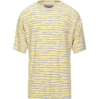 コラレート CORELATE メンズ Tシャツ トップス t-shirt Yellow