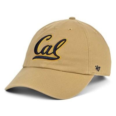 47ブランド 帽子 アクセサリー レディース California Golden Bears CLEAN UP Cap Khaki