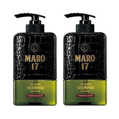 【2個セット】MARO17 コラーゲン シャンプー マイルドウォッシュ 350ml2個