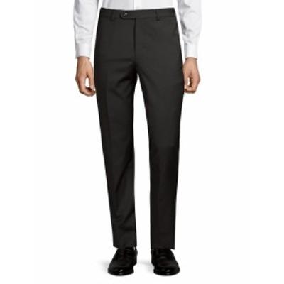 サックスフィフスアベニュー Men Clothing Classic Wool Pants