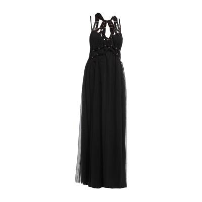 アルベルタ フェレッティ ALBERTA FERRETTI ロングワンピース&ドレス ブラック 42 シルク 100% ロングワンピース&ドレス