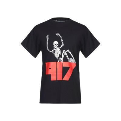 NINE ONE SEVEN T シャツ ブラック S コットン 100% T シャツ