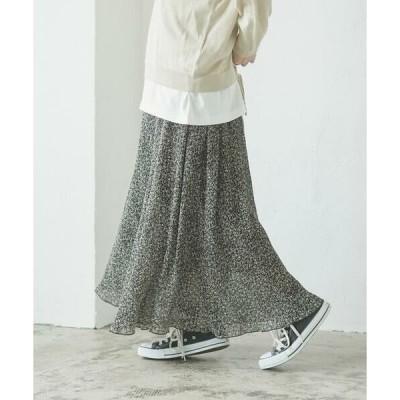 LIPSTAR / リップスター 小花柄プリーツスカート