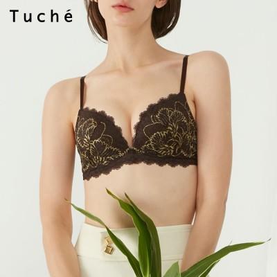 GUNZE グンゼ Tuche(トゥシェ) 【サイドすっきり】ワイヤレスブラジャー(レディース) ワインピンク C70