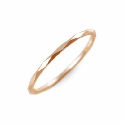 リング 指輪 レディース MU-RA タングステン ピンクゴールド 誕生日プレゼント ギフト