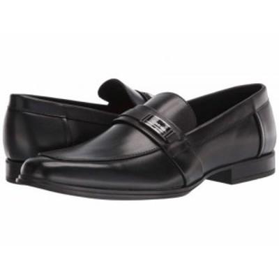 Calvin Klein カルバンクライン メンズ 男性用 シューズ 靴 ローファー Drystan Black Crust Leather【送料無料】