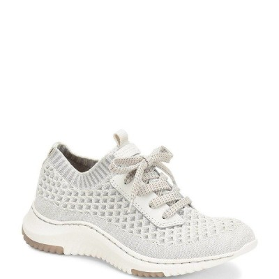 ビオニカ レディース サンダル シューズ Onie Stretch Knit Mesh Sneakers White/Light Grey