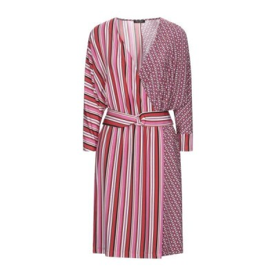 CRISTINAEFFE チューブドレス  レディースファッション  ドレス、ブライダル  パーティドレス フューシャ