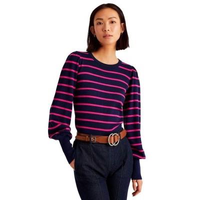 ラルフローレン レディース ニット・セーター アウター Crewneck Striped Sweater