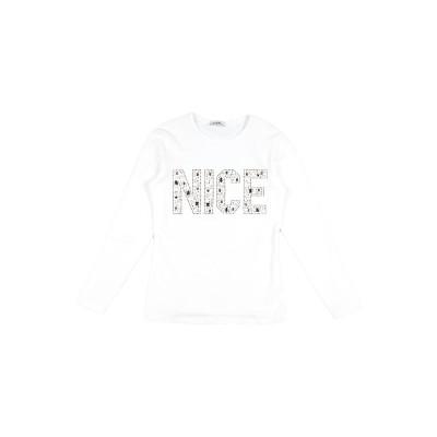 ビブロス BYBLOS T シャツ ホワイト 8 コットン 92% / ポリウレタン 8% T シャツ