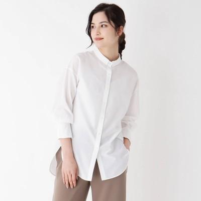 モディファイ Modify ライトローンショートカラーシャツ (ホワイト)