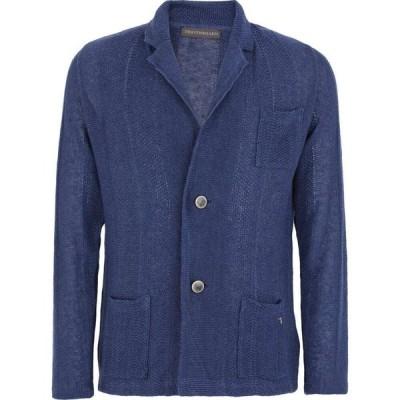 トラサルディ TRU TRUSSARDI メンズ スーツ・ジャケット アウター blazer Blue
