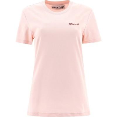 """ガイアガイア Gaia Gaia レディース Tシャツ トップス """""""" T-Shirt Pink"""