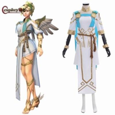 高品質 高級コスプレ衣装 オーバーウォッチ 風 オーダーメイド コスチューム Winged Victory Mercy Skin Cosplay Costume