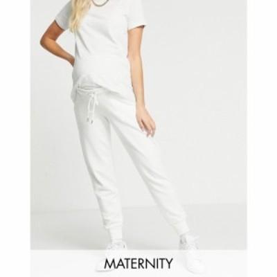 リンデックス Lindex レディース ジョガーパンツ ボトムス・パンツ Mom Jo Organic Cotton Fleece Joggers In Off White ホワイト