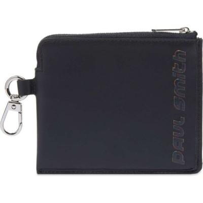ポールスミス Paul Smith メンズ 財布 logo zip wallet Navy