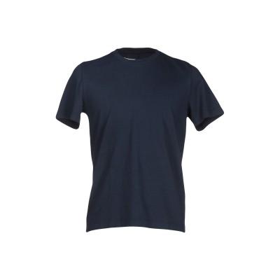 マウロ グリフォーニ MAURO GRIFONI T シャツ ダークブルー M コットン 100% T シャツ